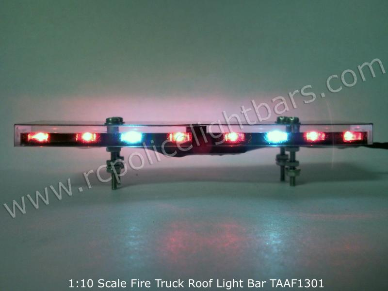 110scale 110 scale fire truck roof light bar w20 p taaf1301 aloadofball Choice Image